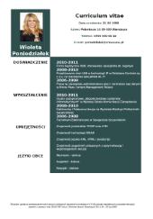 Sample curriculum vitae germany image 4